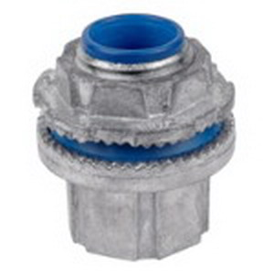 Thomas & Betts H300-SC Steel City® Insulated Conduit Hub; 2-1/2 Inch, Threaded, Die-Cast Zinc