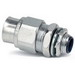 Thomas & Betts 3721-TB Straight Type A Liquidtight Connector ; 1/2 Inch, Steel