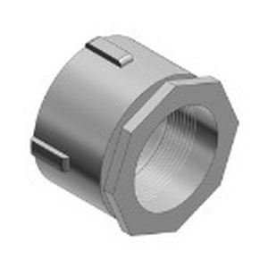 Thomas & Betts 676AL Erickson® Coupling; 3/4 Inch, Copper-Free Aluminum, Threaded