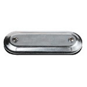 Thomas & Betts 970S Conduit Body Cover With Gasket; 3-1/2 - 4 Inch, Form 7, Stamped Steel
