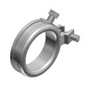 Thomas & Betts BG100-14-20 Blackjack® Grounding Bushing With Lug Screw; 1 Inch, Threaded, Malleable Iron