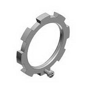 Thomas & Betts 108 Bonding Locknut Assembly; 1 Inch, Threaded, Steel