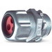 Thomas & Betts 2520-2 Multi-Hole Cord Grip Connector; 1/2 Inch Threaded, 0.215 - 0.220 Inch, Steel