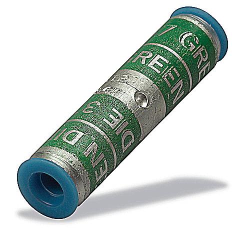Thomas & Betts 60554 Two-Way Standard Barrel Compression Splice; 250 KCMIL Aluminum/Copper, Red