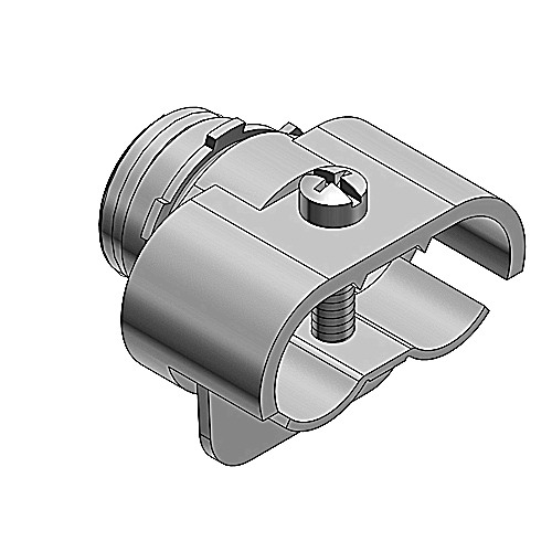 Thomas & Betts 291-TB Duplex Clamp Connector; Malleable Iron