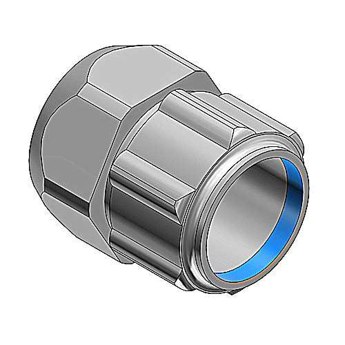 Thomas & Betts 531 Combination Compression Coupling; 3/4 Inch, Steel