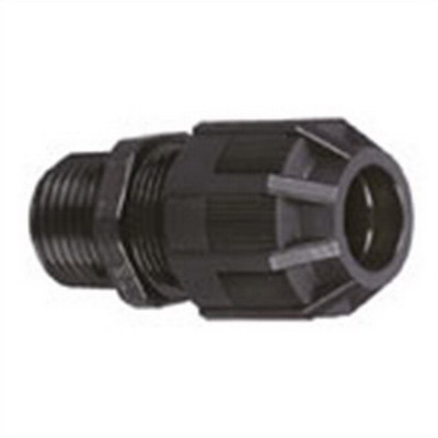Thomas & Betts 2940NM Ranger® Liquidtight Strain Relief Connector; 1 Inch Threaded, 0.310 - 0.560 Inch, Nylon