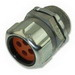 Thomas & Betts 2540-4 Multi-Hole Cord Grip Connector; 1 Inch Threaded, 0.220 - 0.225 Inch, Steel