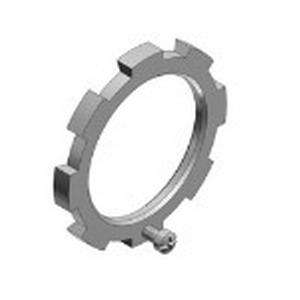 Thomas & Betts 110-TB Bonding Locknut Assembly; 1-1/2 Inch, Threaded, Steel