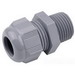 Thomas & Betts CC-NPT-12-B Cable Gland Connector; 1/2 Inch NPT, 0.394 - 0.551 Inch, Nylon 6