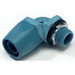 Thomas & Betts 6322 Type A 90 Degree Liquidtight Connector ; 1/2 Inch, Thermoplastic