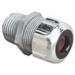 Thomas & Betts 2542 Liquidtight Strain Relief Cord Connector; 1 Inch Threaded, 0.375 - 0.500 Inch, Die-Cast Zinc