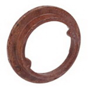 Union 4061 Round Plaster Ring; Phenolic, Brown, For Multi-Family Construction