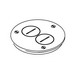 Wiremold / Walker 895TSP Ratchet-Pro™ 881 Series Cover Plate; Brass