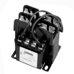 Eaton / Cutler Hammer C0150E2BFB Type MTE Control Transformer 240 x 480 Volt Primary  24 Volt Secondary  150 VA