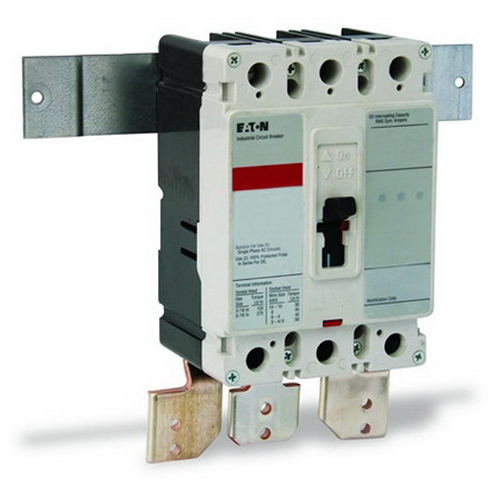 Eaton / Cutler Hammer BKED100T Pow-R-StockPlus™ Type ED CHPNL Panelboard Main Breaker Kit; 240 Volt, 100 Amp, 1/3-Phase, Top Mount