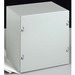 Wiegmann SC242408GNK SC Series Electrical Enclosure; 14 Gauge Galvanized Steel, Unpainted, Wall Mount, Screwed Cover