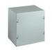 Wiegmann SC060604NK SC Series Electrical Enclosure; 16 Gauge Steel, ANSI 61 Gray, Wall Mount, Screwed Cover