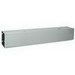 Wiegmann HS446NK Straight Wireway; 72 Inch x 4 Inch x 4 Inch, 16 Gauge Steel, ANSI 61 Smooth Gray