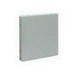 Wiegmann E1010NK End Cap For HS and S Series Wireway; 10 Inch x 10 Inch, 14 Gauge Steel, ANSI 61 Gray
