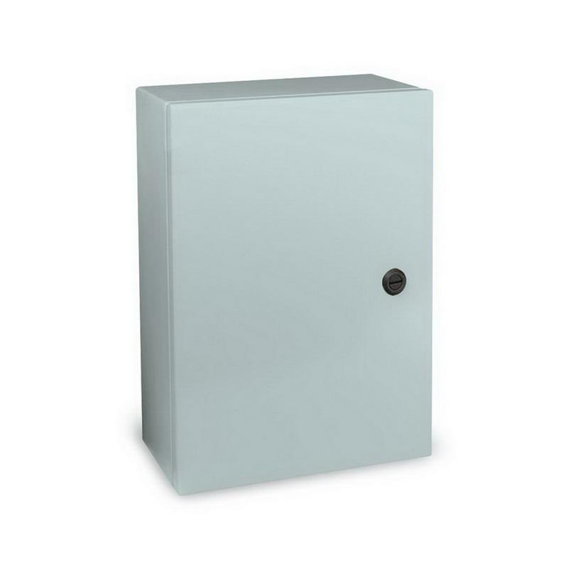 Wiegmann N412202012C N412C Ultimate Series Solid Single Door Quarter-Turn Semi Flush Oil Tight Electrical Enclosure 14 Gauge Steel  ANSI 61 Gray  Wall Mount  Hinged Cover sale 2016