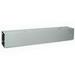 Wiegmann HS12125NK Wireway; 60 Inch x 12 Inch x 12 Inch, 14 Gauge Steel, ANSI 61 Smooth Gray
