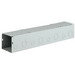 Wiegmann S8836NK Wireway; 36 Inch x 8 Inch x 8 Inch, 14 Gauge Steel, ANSI 61 Gray