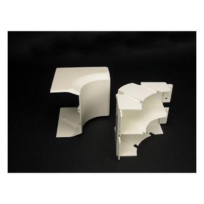 Wiremold / Walker 40N2F17WH Non-Metallic Radiused Internal Elbow Fitting; White