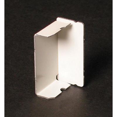 Wiremold / Walker V2410B Blank End Fitting; Steel, Ivory