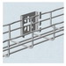 Cablofil C50PG Wire Mesh Cable Tray Wall Mount Attachment; Carbon Steel