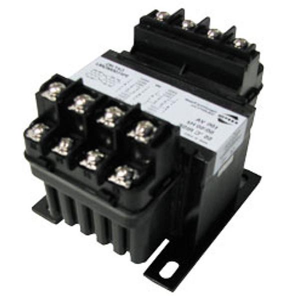Hammond PH150MQMJ Control Transformer; 220/230/240/440/460/480 Volt Primary, 110/115/120/220/230/240 Volt Secondary, 150 VA, Integrally Molded Terminal Block Connection