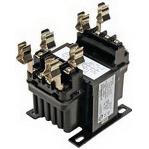 Hammond PH100MQMJ Control Transformer; 220/230/240/440/460/480 Volt Primary, 110/115/120/220/230/240 Volt Secondary, 100 VA, Integrally Molded Terminal Block Connection