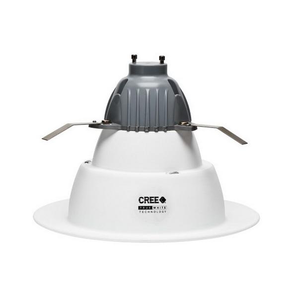 Cree CR6-625L-40K-12-GU24 Ceiling Mount CR Series 6 Inch LED Downlight Module; 9.5 Watt, 625 Lumens, White