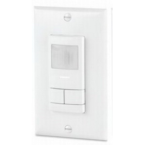 Lithonia Lighting / Acuity WSX-2P-WH Sensor Switch® Wall Mount Dual Relay Passive Infrared Occupancy Sensor; 120/277 Volt AC, 20 ft, Auto ON Or Vacancy, White