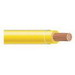 Copper Building Wire TFFN Building Wire; 16 AWG, 26 Stranded, Copper Conductor, Yellow, 500 ft Spool/Reel