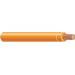 Copper Building Wire THHN Cable; 500 MCM, 37 Stranded, Copper Conductor, Orange, Coil