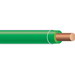 Copper Building Wire THHN Cable; 14 AWG, Solid, Copper Conductor, Green, 500 ft Coil