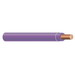 Copper Building Wire THHN Cable; 14 AWG, Solid, Copper Conductor, Purple, 500 ft Coil