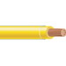 Copper Building Wire THHN Cable; 6 AWG, 19 Stranded, Copper Conductor, Yellow, 500 ft Reel