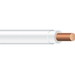 Copper Building Wire THHN Cable; 12 AWG, Solid, Copper Conductor, White, 1000 ft Spool/Reel