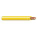 Copper Building Wire THHN Cable; 12 AWG, Solid, Copper Conductor, Yellow, 1000 ft Spool/Reel