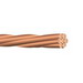 Copper Building Wire Bare Cable; 4 AWG, 7 Stranded, Soft Drawn Bare Copper Conductor, 2500 ft Reel