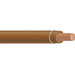 Copper Building Wire THHN Cable; 3/0 AWG, 19 Stranded, Copper Conductor, Brown, Coil