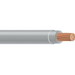 Copper Building Wire THHN Cable; 1/0 AWG, 19 Stranded, Copper Conductor, Gray, Coil
