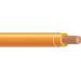 Copper Building Wire THHN Cable; 1 AWG, 19 Stranded, Copper Conductor, Orange, Coil