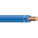 Copper Building Wire THHN Cable; 14 AWG, Solid, Copper Conductor, Blue, 500 ft Spool/Reel