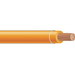 Copper Building Wire THHN Cable; 1 AWG, 19 Stranded, Copper Conductor, Orange, 1000 ft Reel