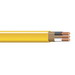 Copper Building Wire NM Sheathed Cable With Grounding; 6/3 AWG, Copper Conductor, 2500 ft Spool/Reel