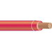 Copper Building Wire THHN Cable; 3/0 AWG, 19 Stranded, Copper Conductor, Red, 1000 ft Reel