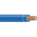 Copper Building Wire THHN Cable; 1/0 AWG, 19 Stranded, Copper Conductor, Blue, Reel